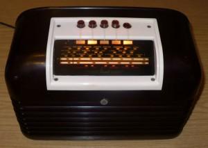 Bush DAC10 vintage valve radio