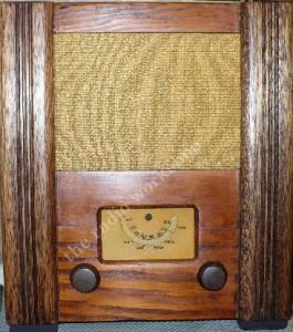 Civilian war time utility receiver radio