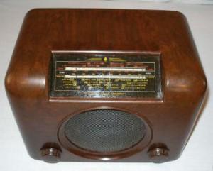 Bush DAC90 vintage valve radio