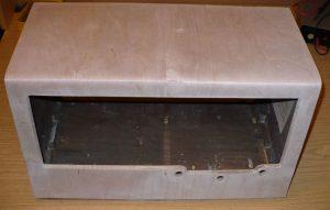 cut holes in veneer