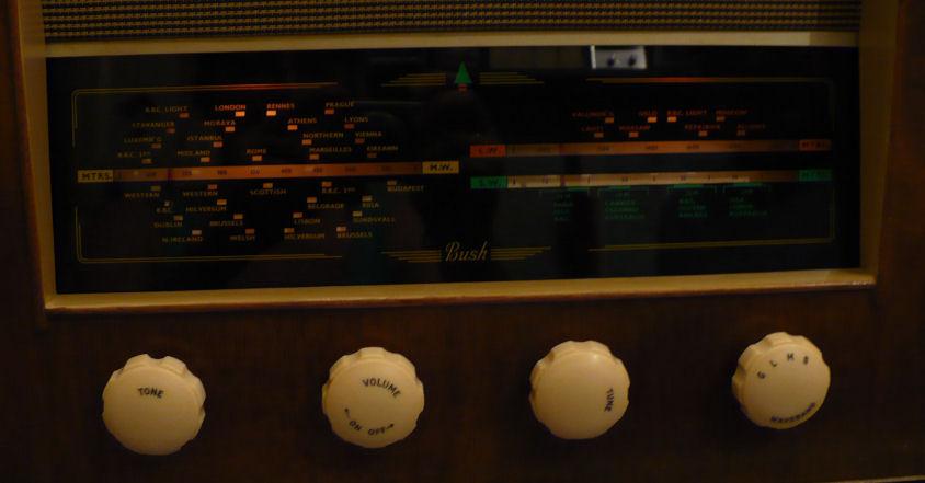 Vintage radio dial bulbs