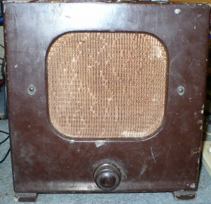 Valve radio extention speaker
