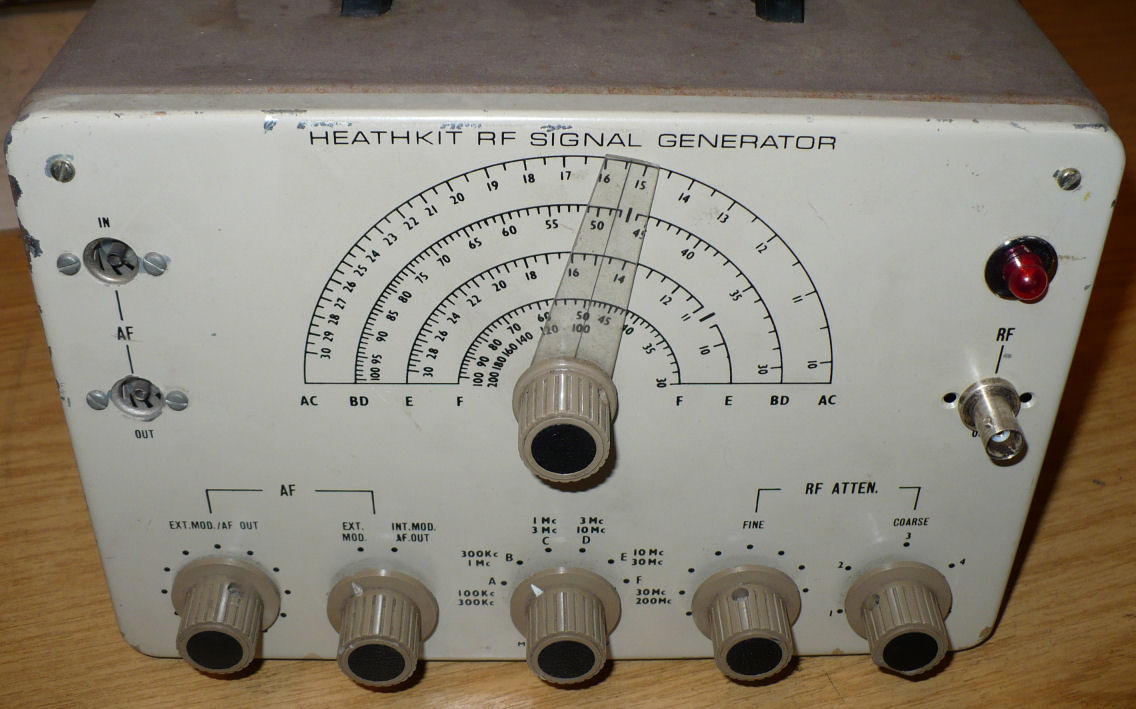Heathkit Signal Generator : Test equipment radio workshopradio workshop