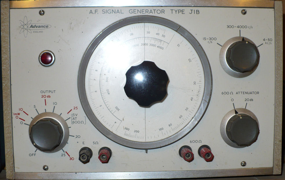 Advance audio signal generator