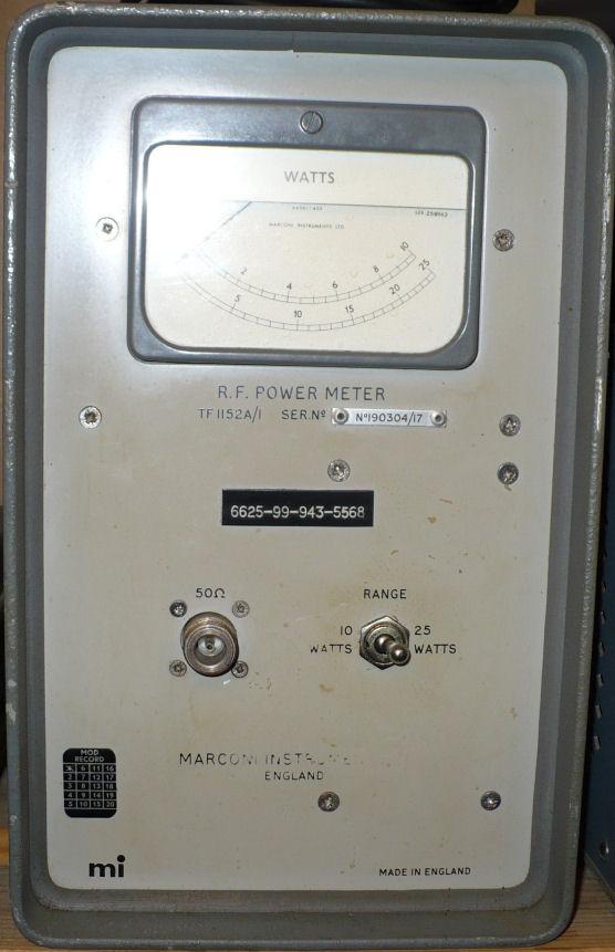Marconi RF power meter