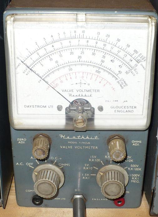 Heathkit valve voltmeter