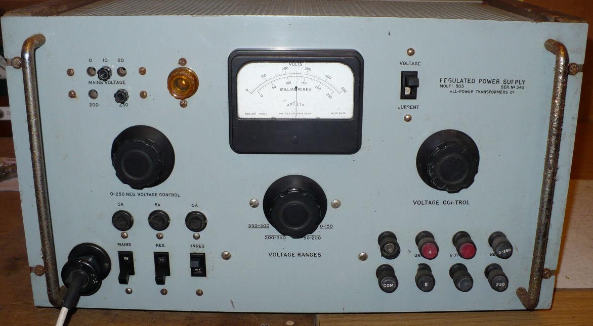 High voltage power supply PSU