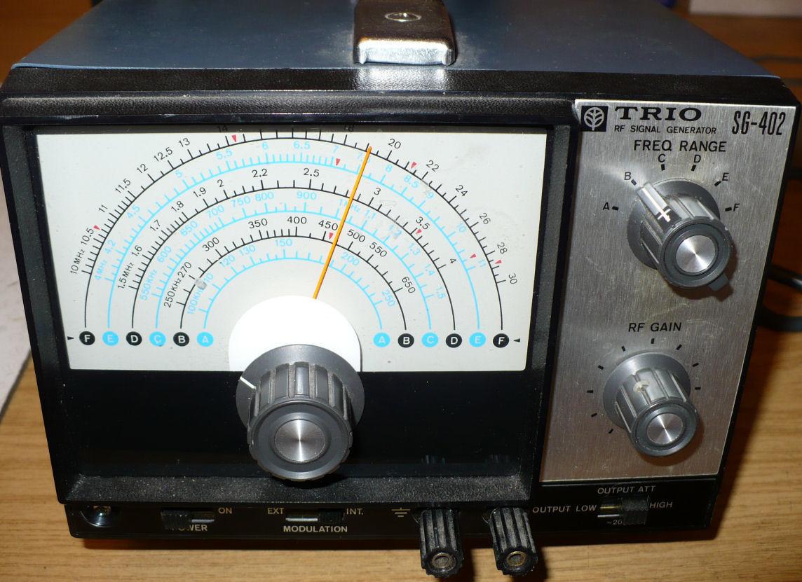 Trio signal generator