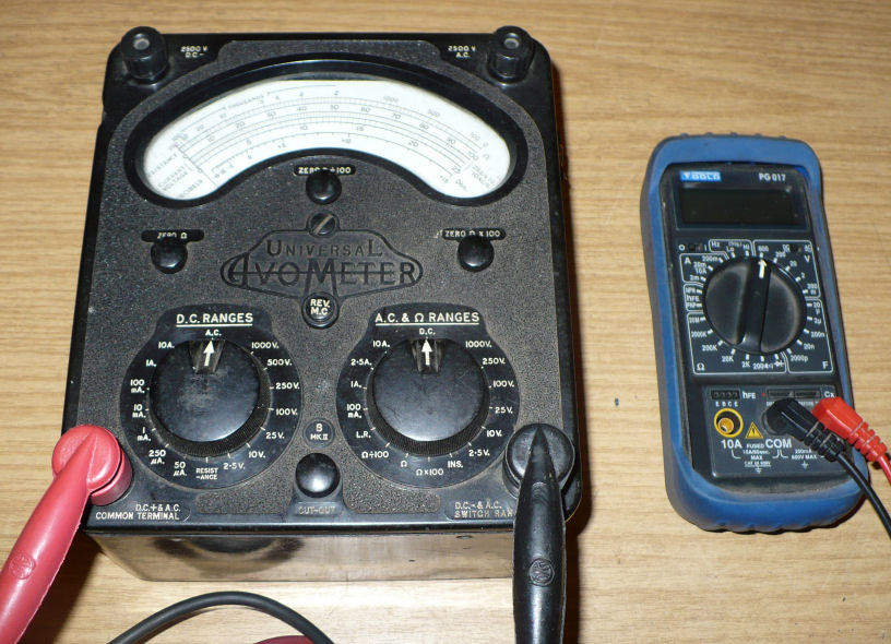 Avo multimeter