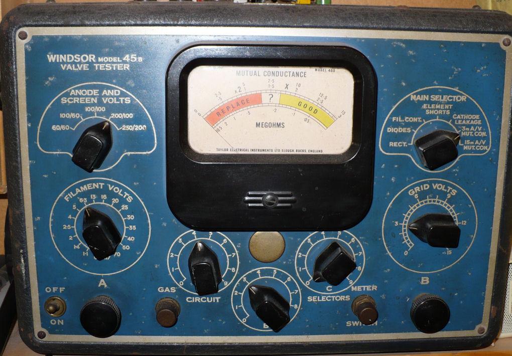 Windsor Taylor valve tester