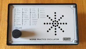 Kent practice Morse code oscillator