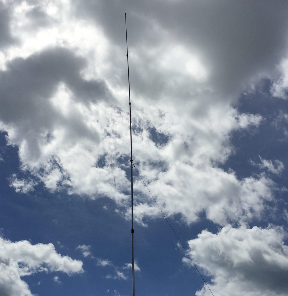 My 10 metre aerial Sigma Venom 5/8 Wave.