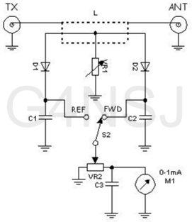 SWR meter circuit