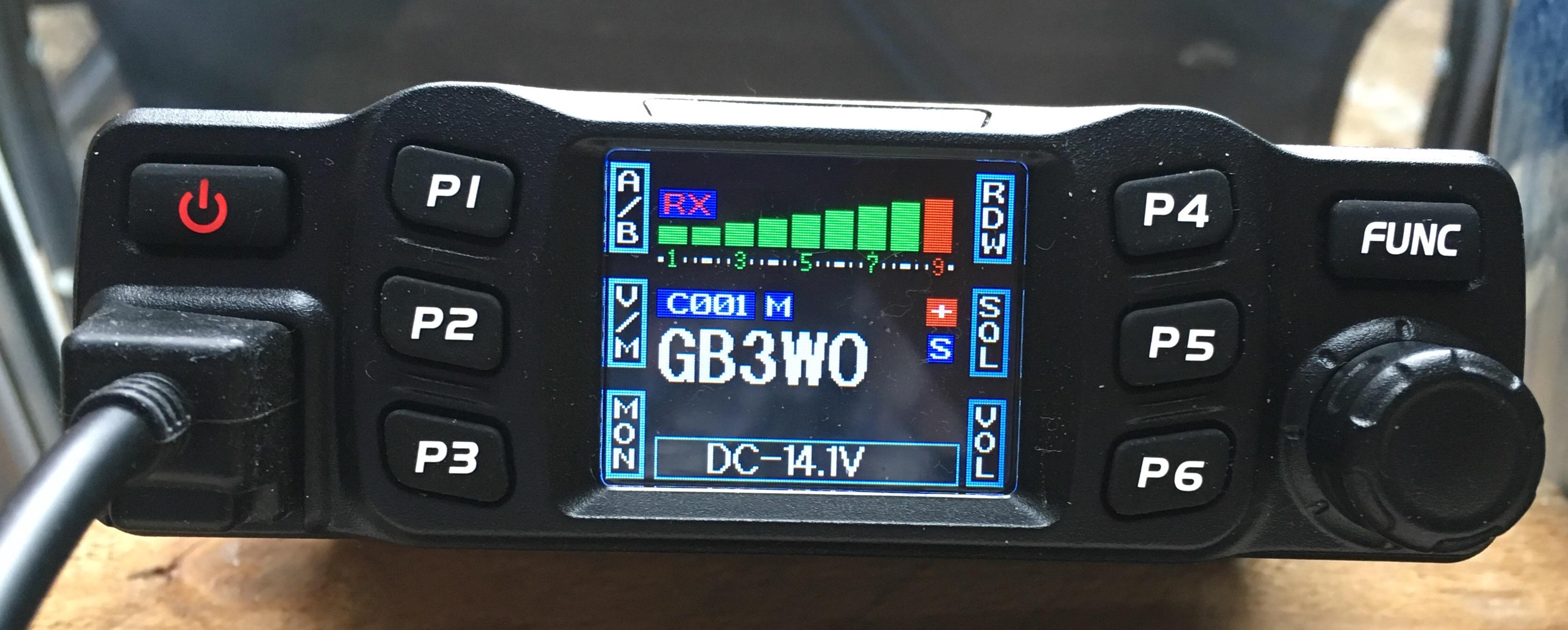 AnyTone AT-778V/U 2/70 Dual Band Transceiver