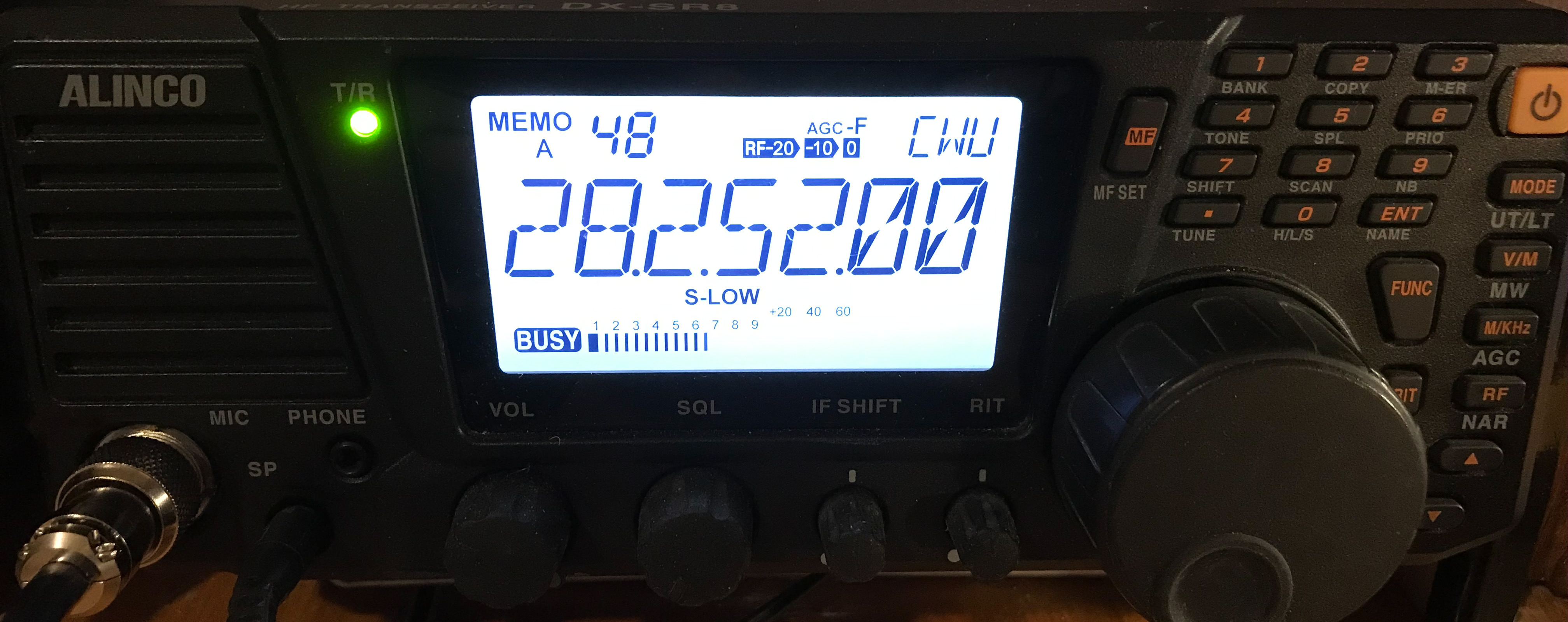 Alinco DX-SR8 transceiver