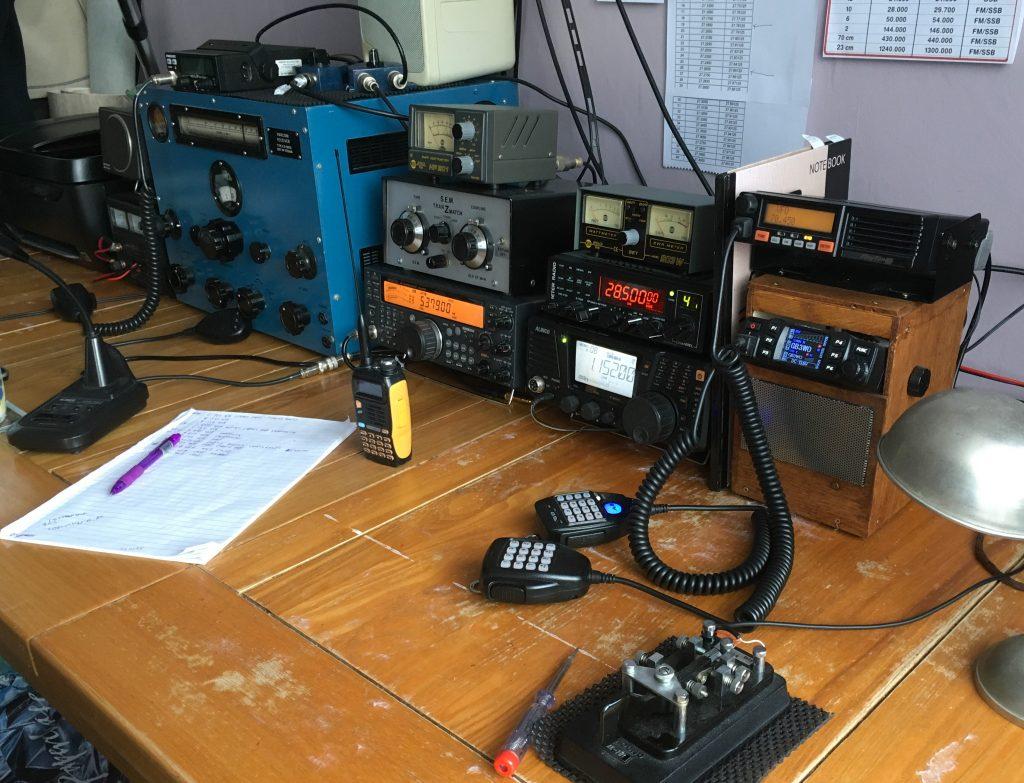 G4NSJ radio room
