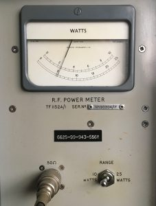 Marconi TF 1152A/1 power meter