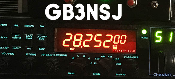 GB3NSJ 10 metre beacon