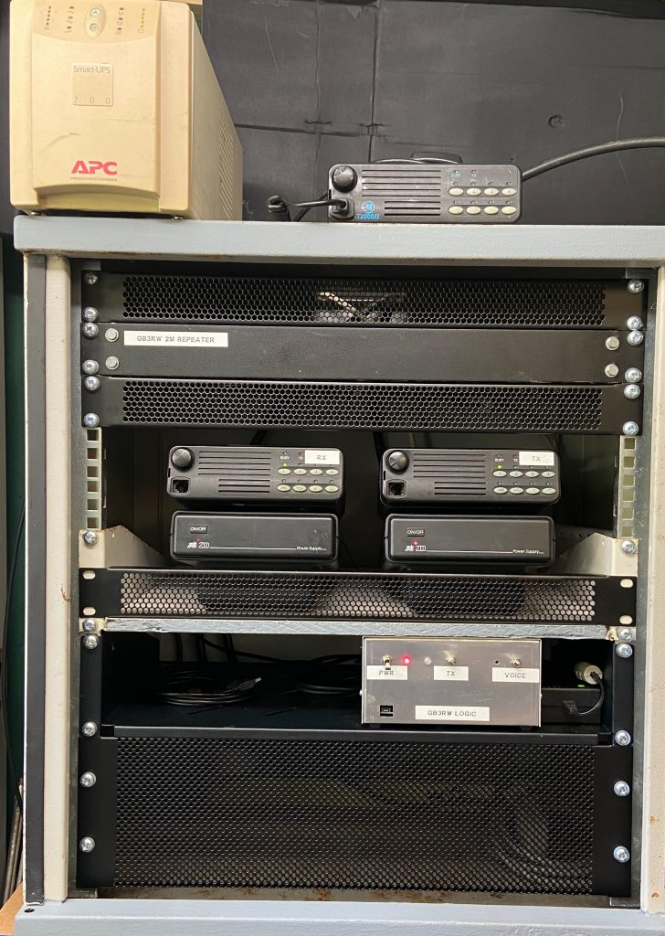 "GB3RW in 19"" rack cabinet"