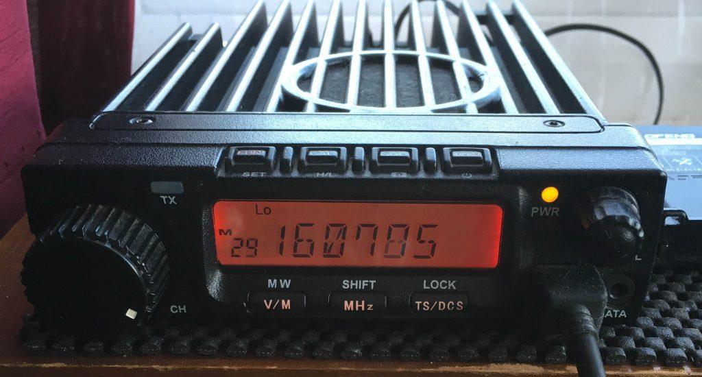 Anytone 588 VHF marine radio