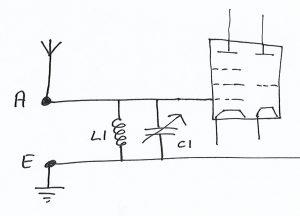 Aerial tuning circuit