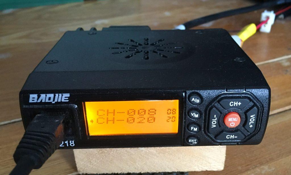 Baojie BJ-218 radio