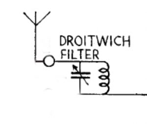 Wave trap rejector circuit