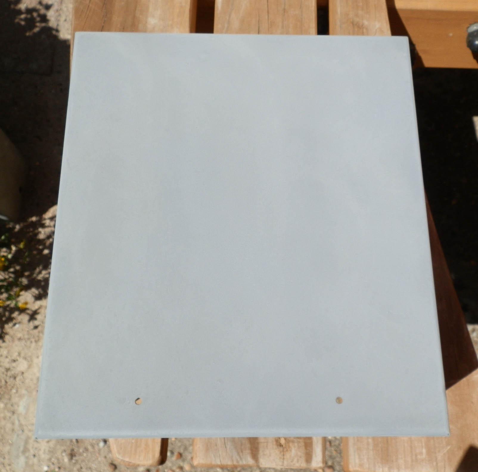 Steel cabinet primed