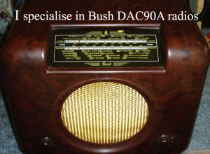I specialize in BUSH DAC90A radios