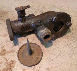 Lister D carburetor
