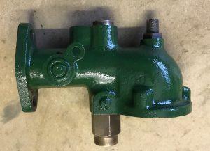 Lister mid Brunswick green manifold