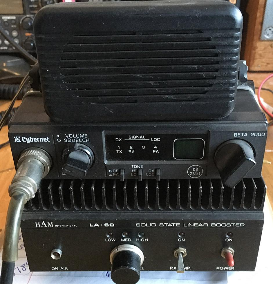 CB radio with Ham International Linear