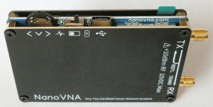 NanoVNA H very tiny antenna analyser - back