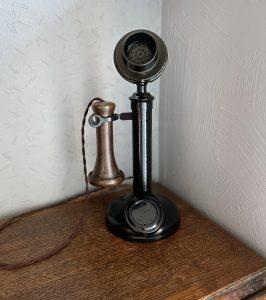 Restored GPO 150 candlestick telephone