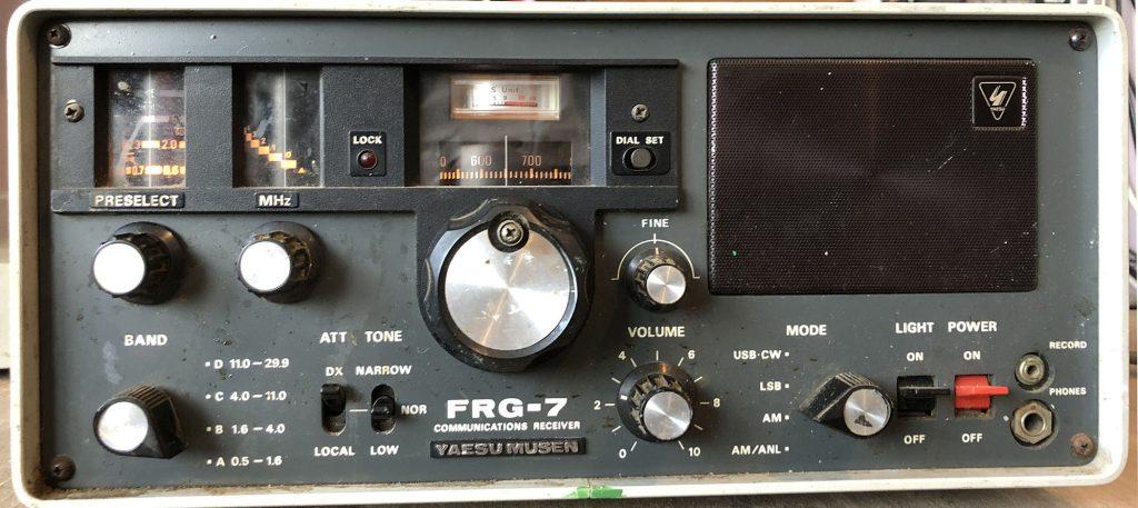 Yaesu-FRG-7 communications receiver
